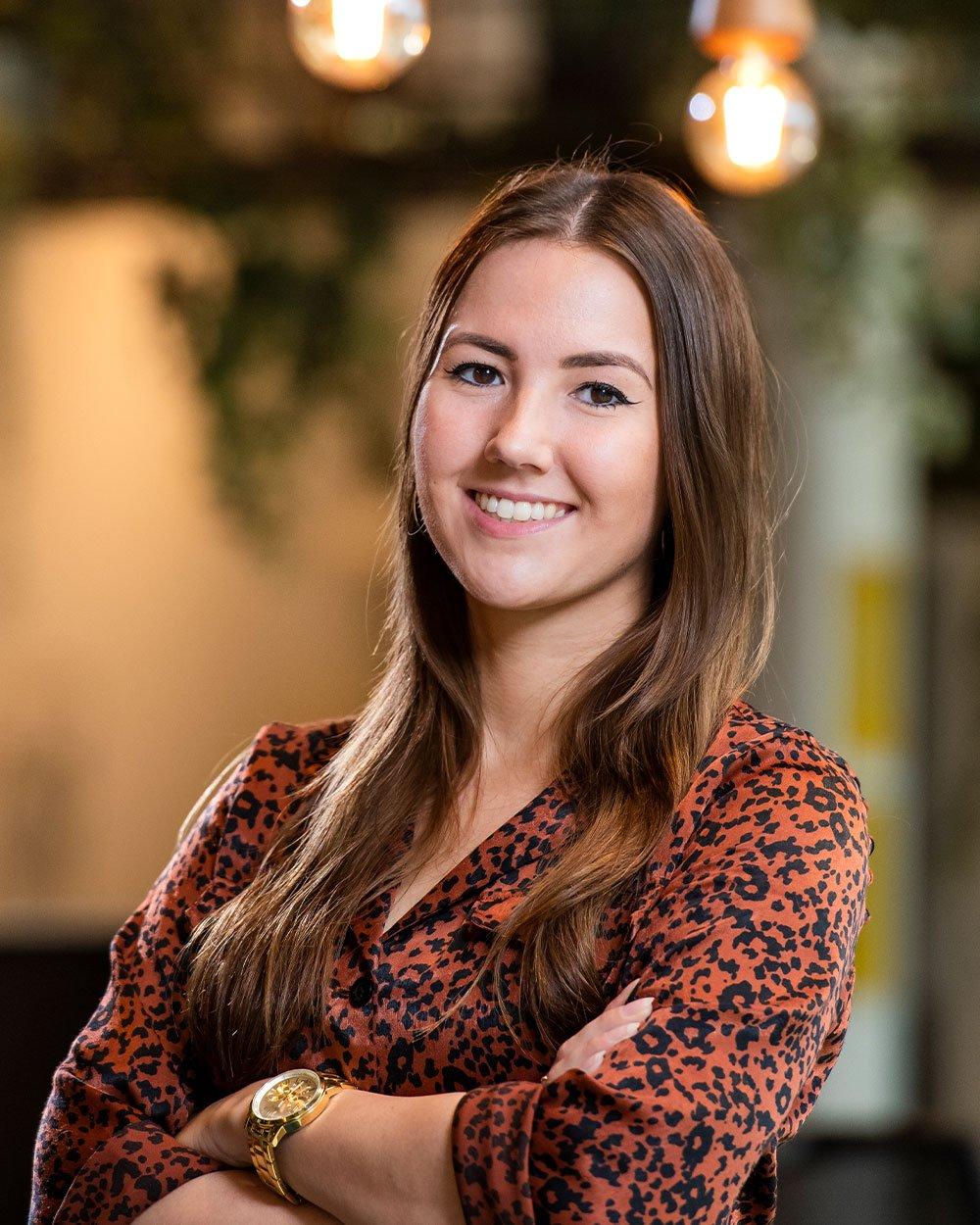 Diana van Hunen, Teamlead Content & Design bij Bright