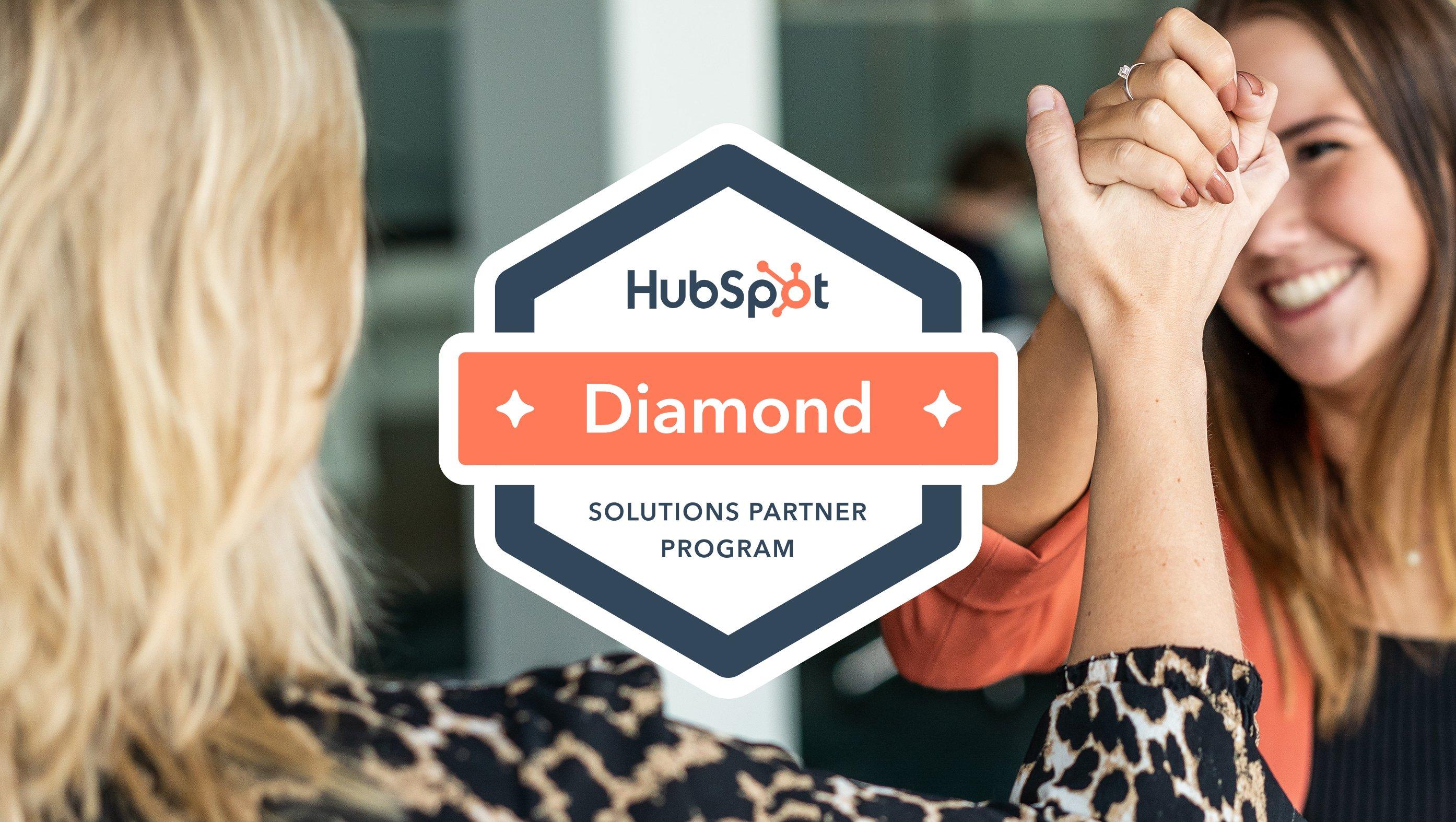 Diamond Partner in Solution Partner programma van HubSpot