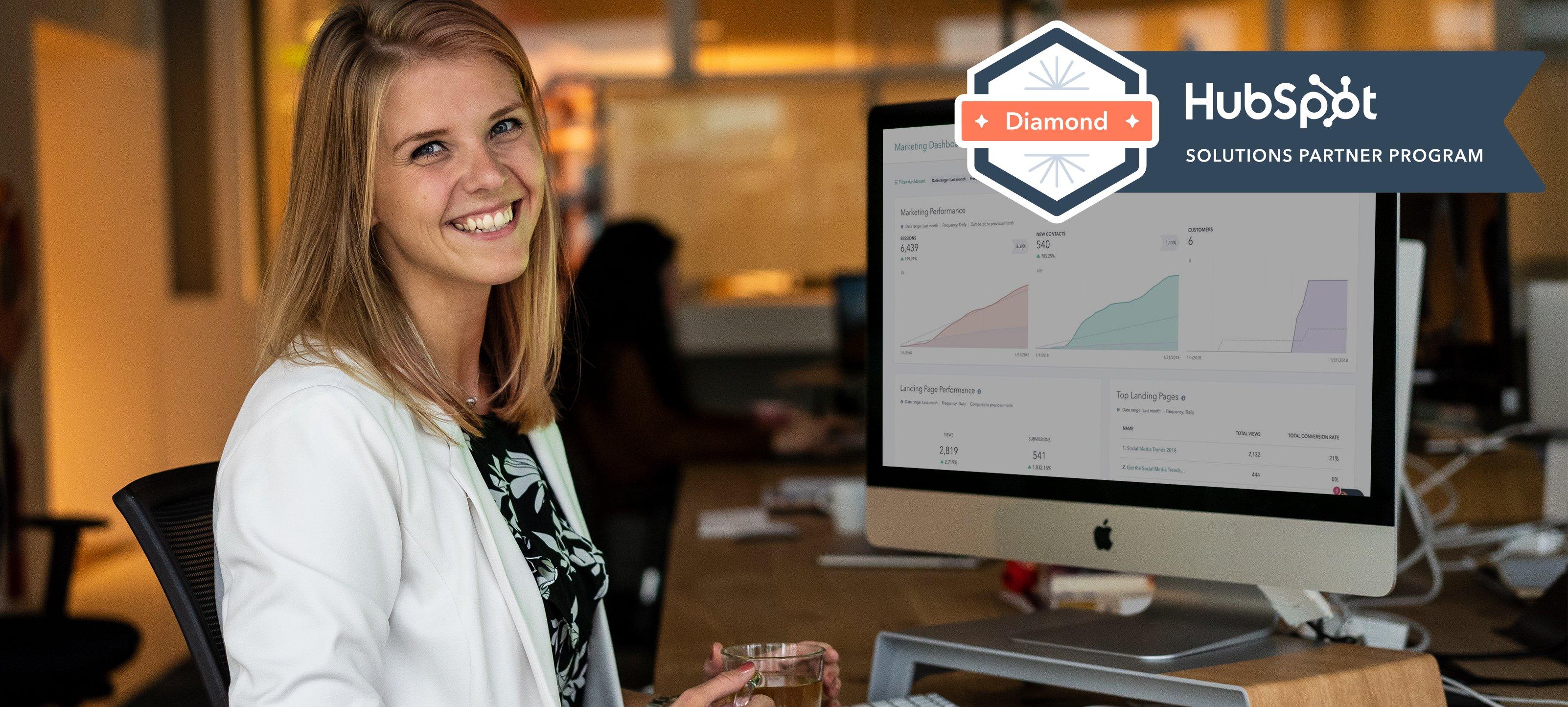 Bureau Bright is Diamond Partner van HubSpot