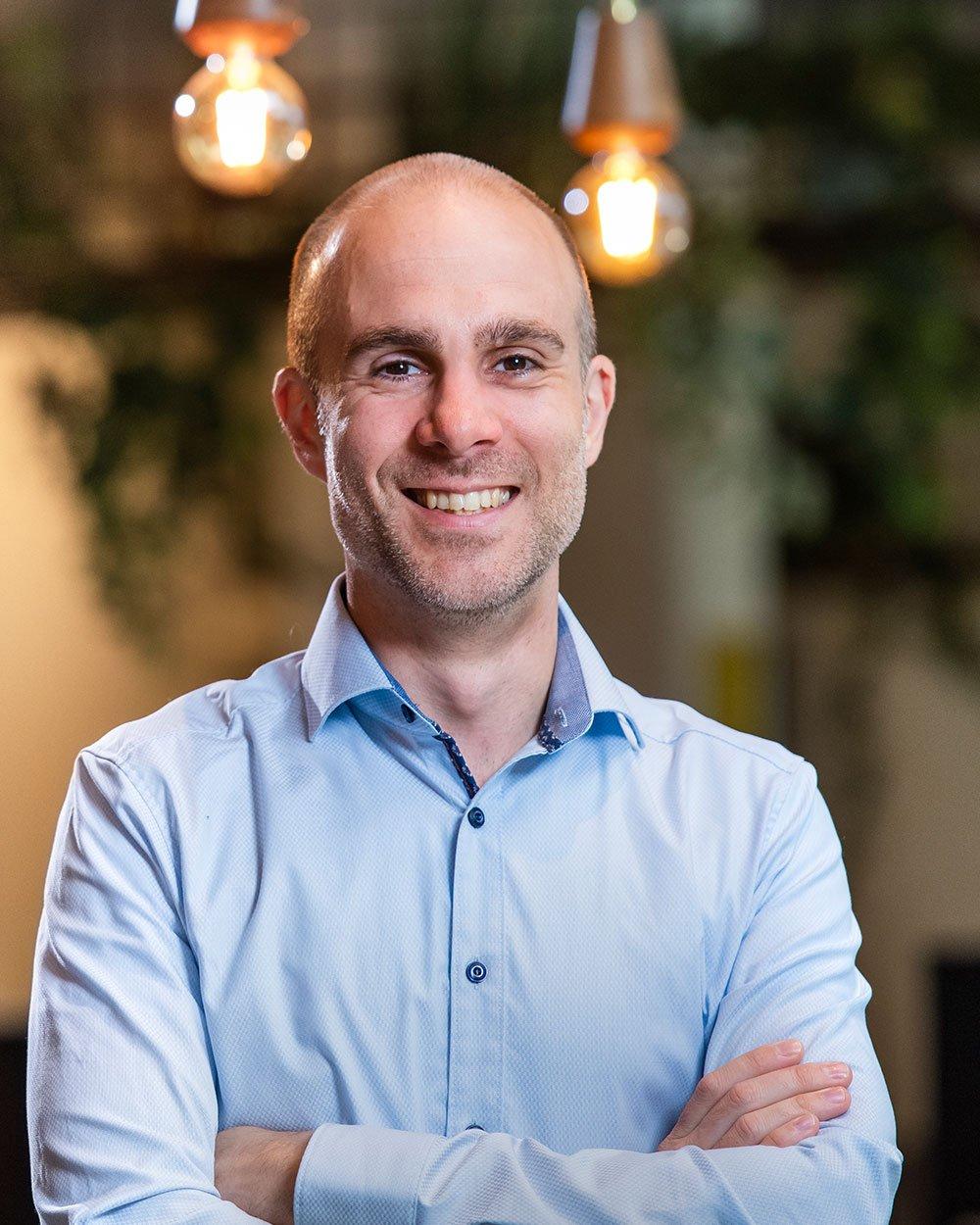 Ezechiël Kruijer, Inbound marketing consultant bij Bright