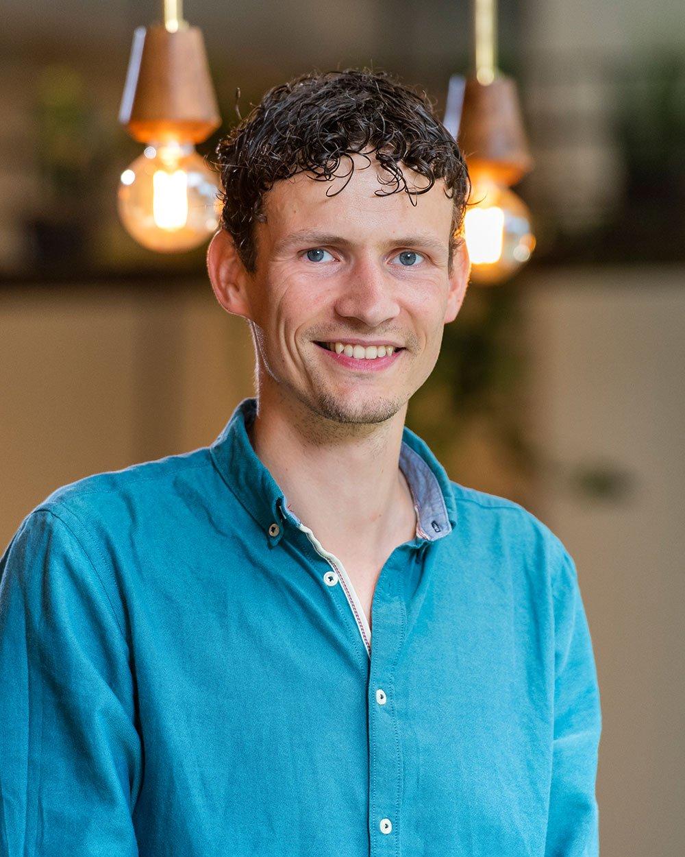 Leonard Luimes, Data & Insights specialist bij Bright