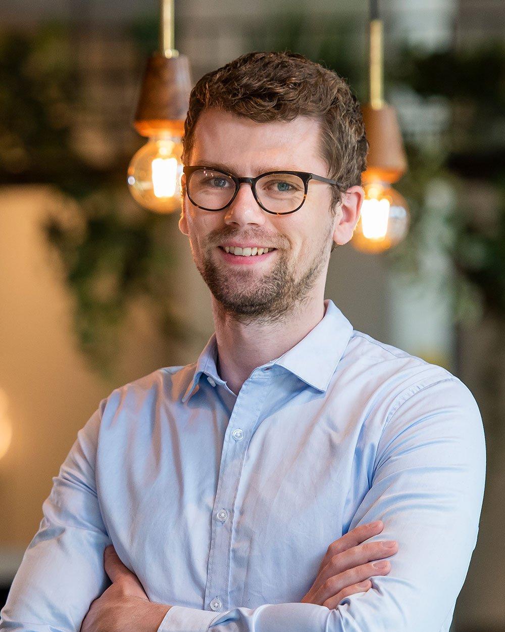 Vincent van der Hulst, Inbound marketing consultant bij Bright