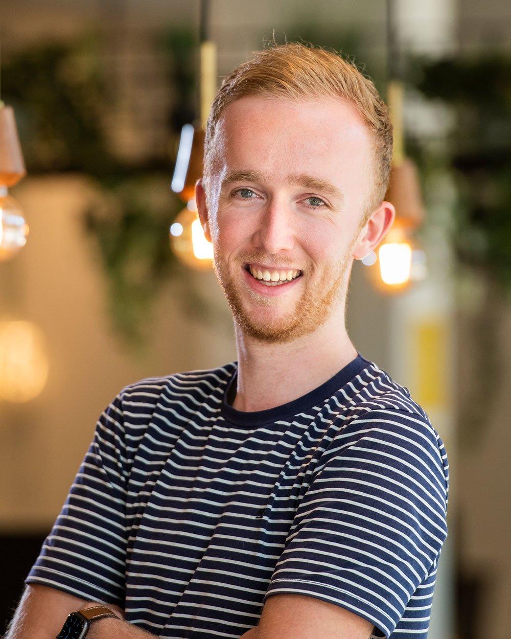 Wouter de Graaf, HubSpot consultant bij Bright